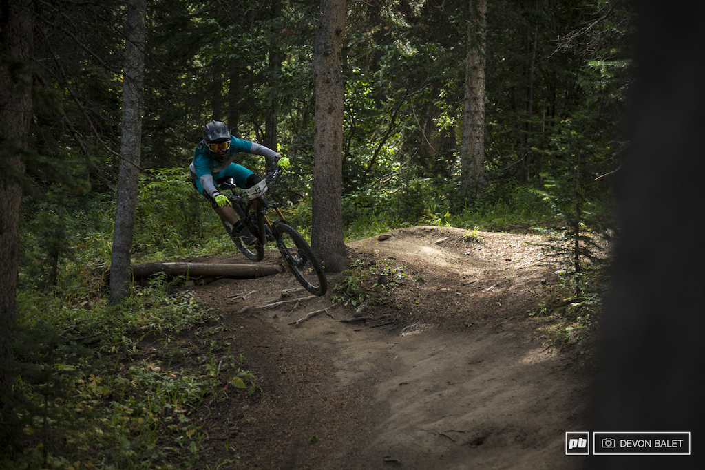 There is no denying Joey Schusler is a downhiller at heart. Schusler finished second on stage two on the final day of racing.