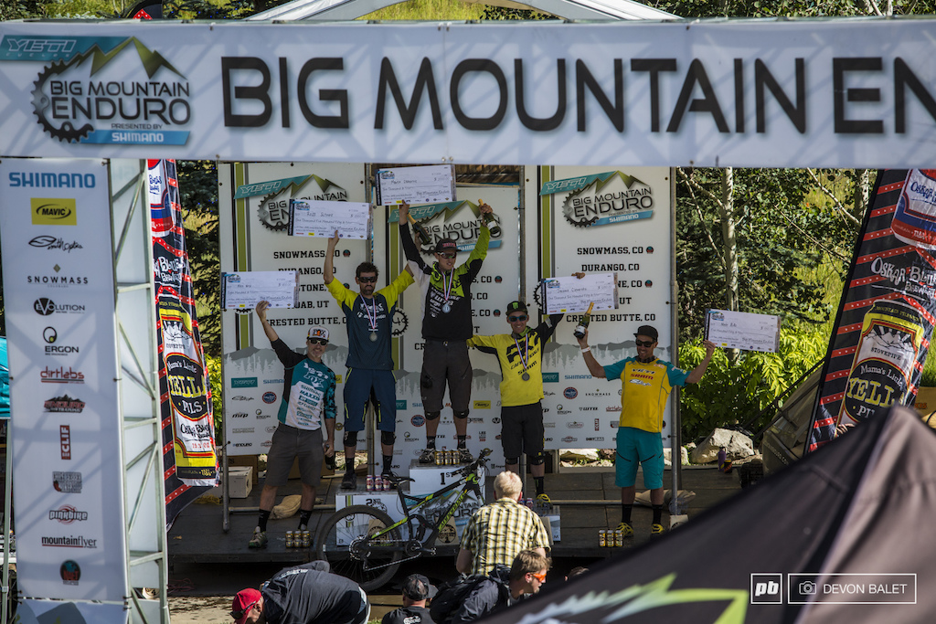 1 Marco Osborn 2 Ross Schnell 3 Jerome Clementz 4 Mike West 5 Nate Hills