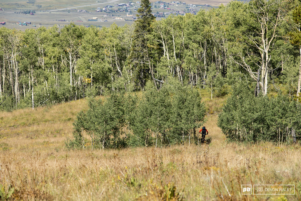 The opening of Trail 409.5 was like many other high alpine trails in Crested Butte wide open and fast