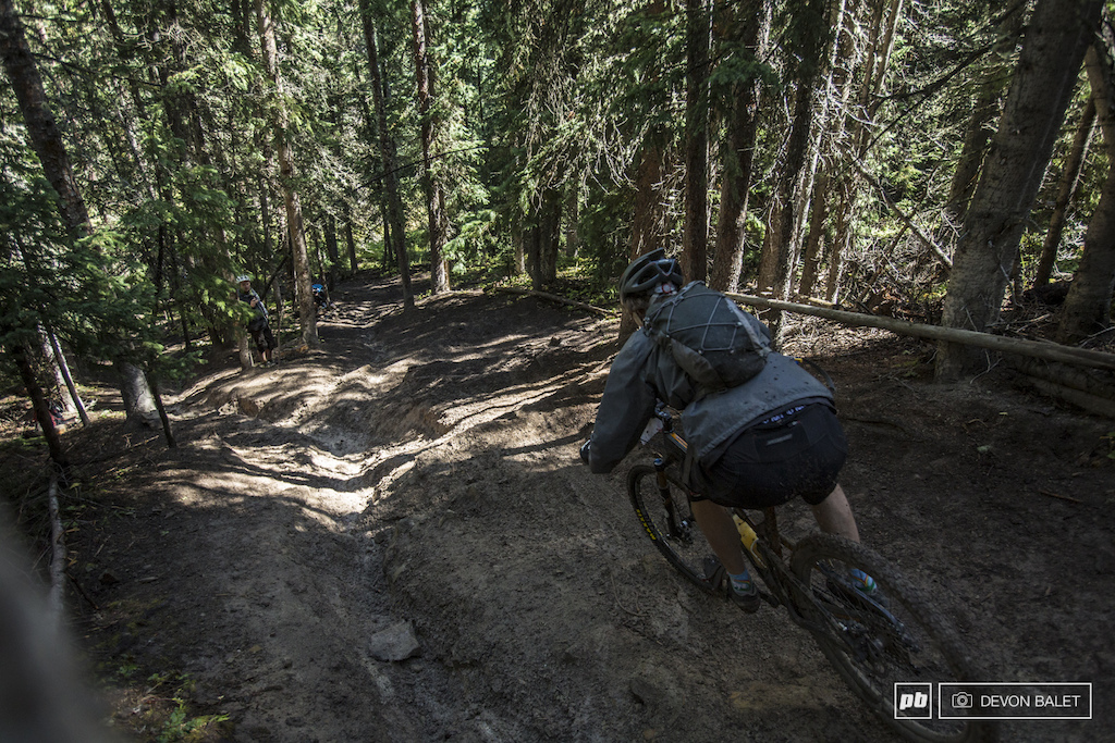 The steep and muddy trail known as Trail 409.5