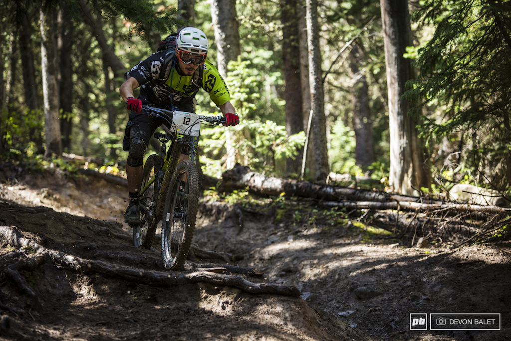 Ben Cruz was entertaining to watch race all week and on most stages he was blasting tunes as he was ripping the trail.