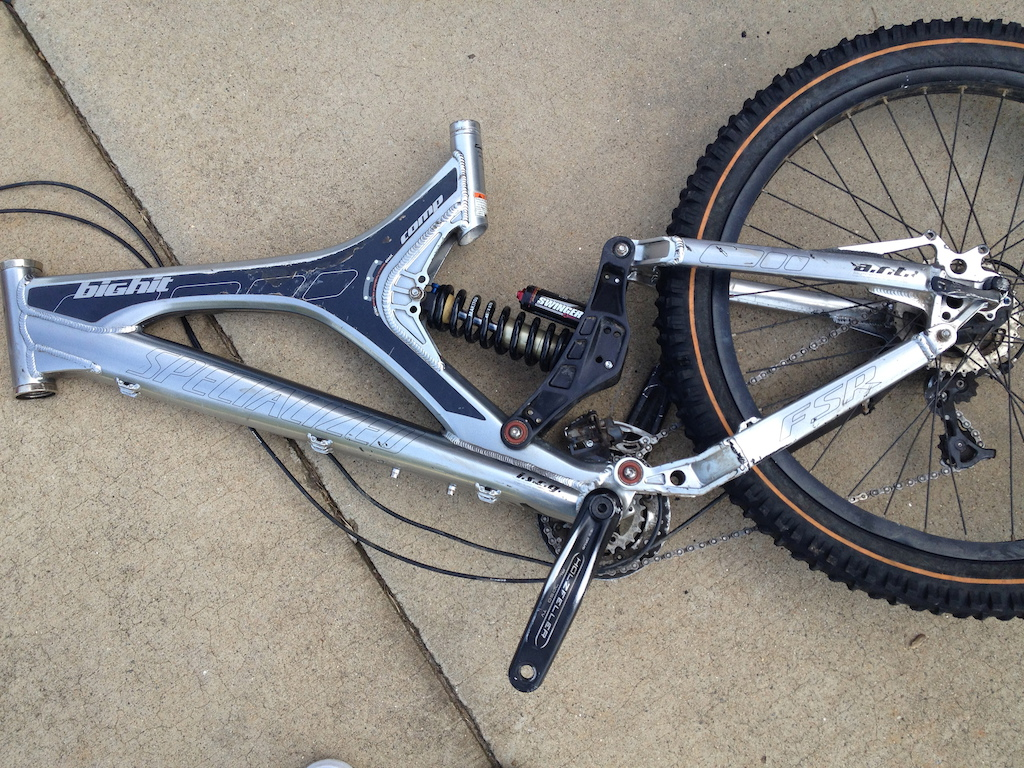2006 Specialized Big Hit DH Frame/shock with Extras