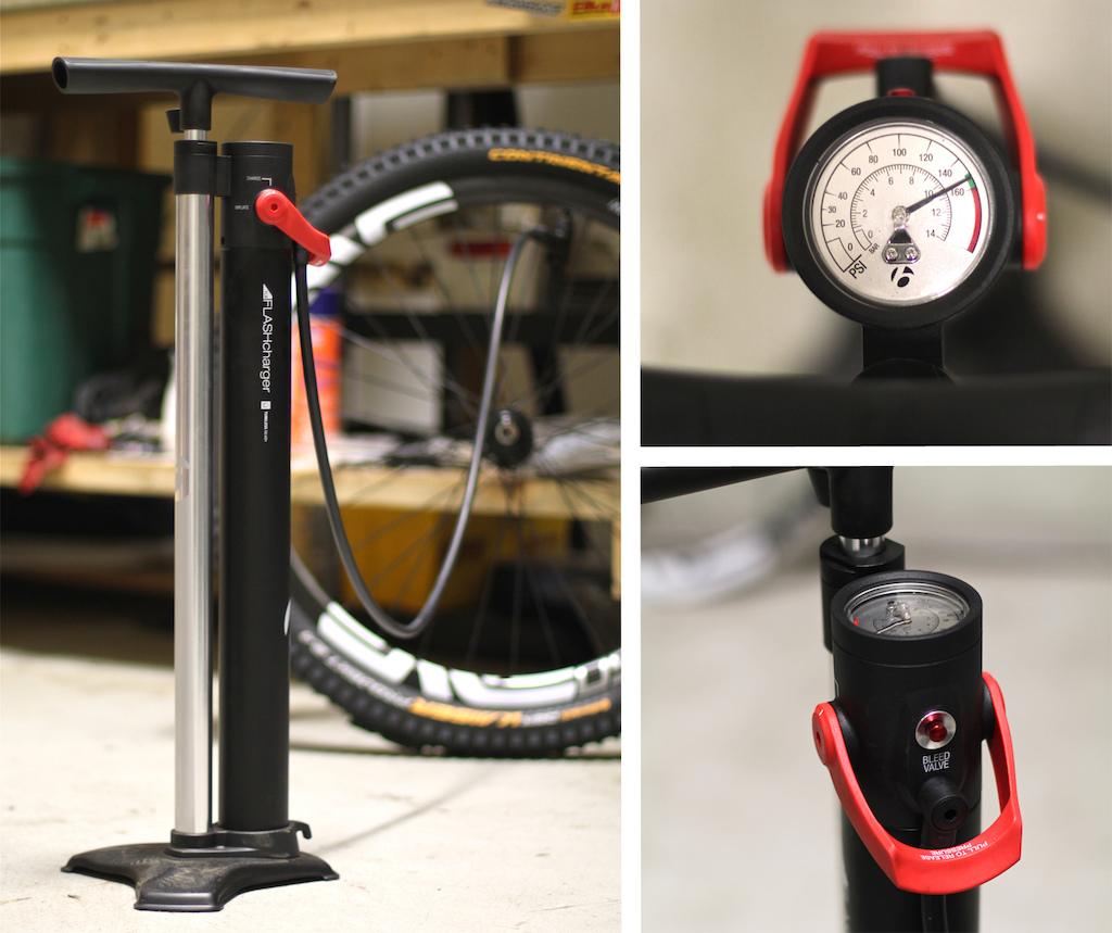 Bontrager TLR Flash Charger floor pump review test