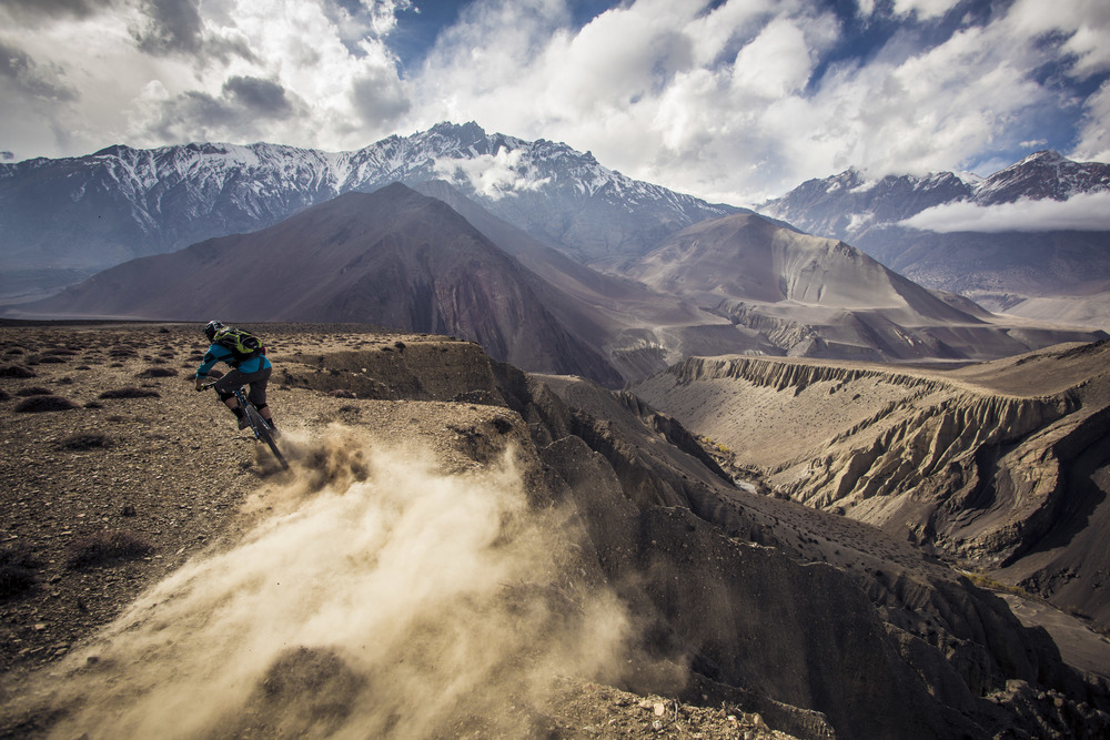 Nepal Wind Dust Flow