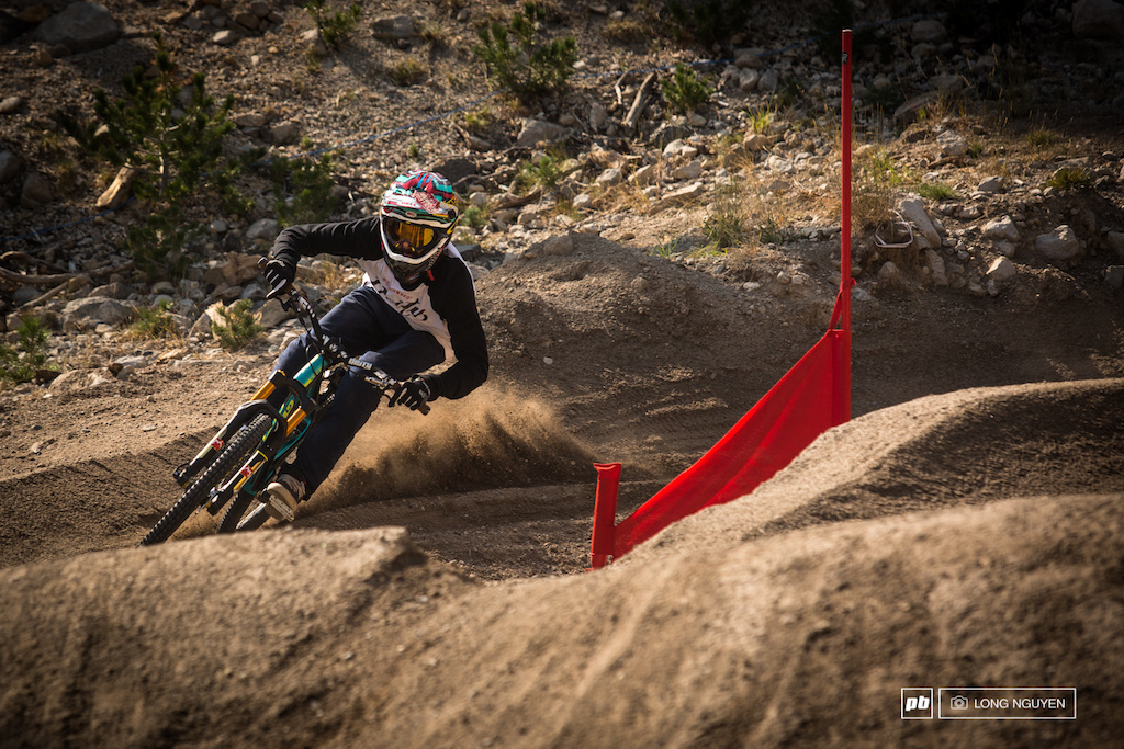 Alex Reveles looking fast and comfortable. It was great to see Alex stop by on his way out to Rampage.