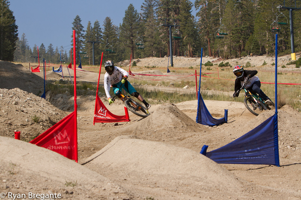 Devin Kjaer and Alex Reveles were some of the fastest riders in Speed amp Style.