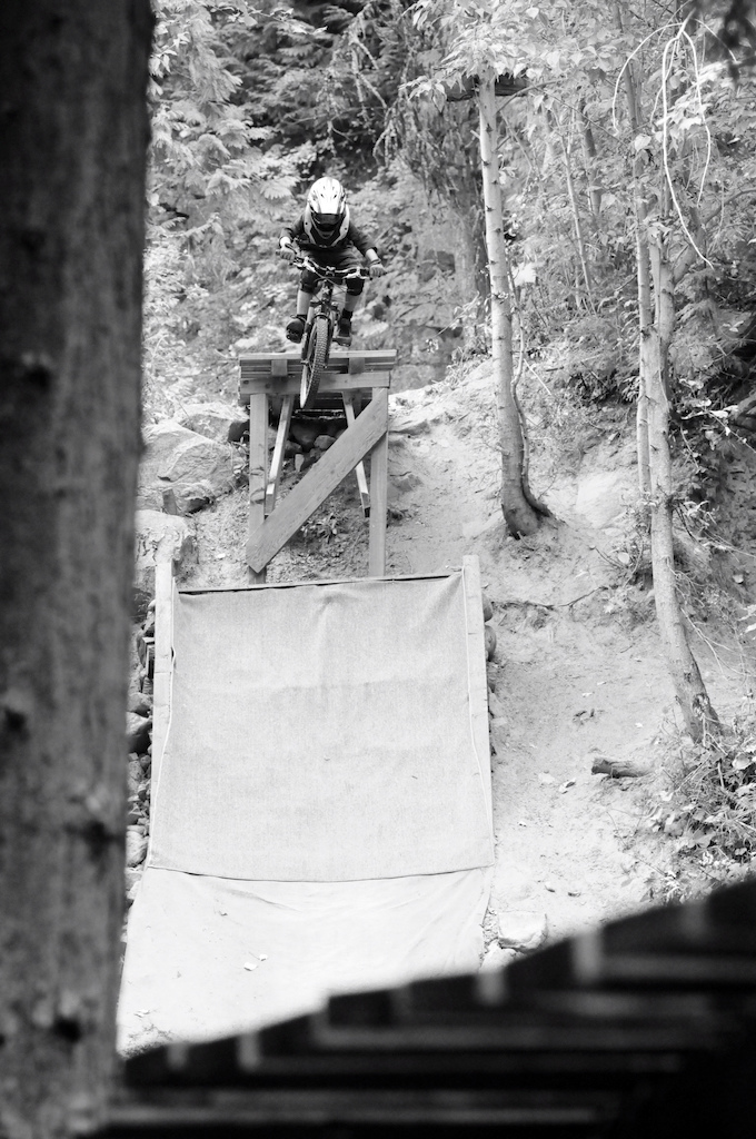 9-year-old Bodhi Kuhn on Pay Dirt at Red Mountain Resort in Rossland, BC. Photo by the legendary Johnny Dougall. An edit of Bodhi will be released soon!