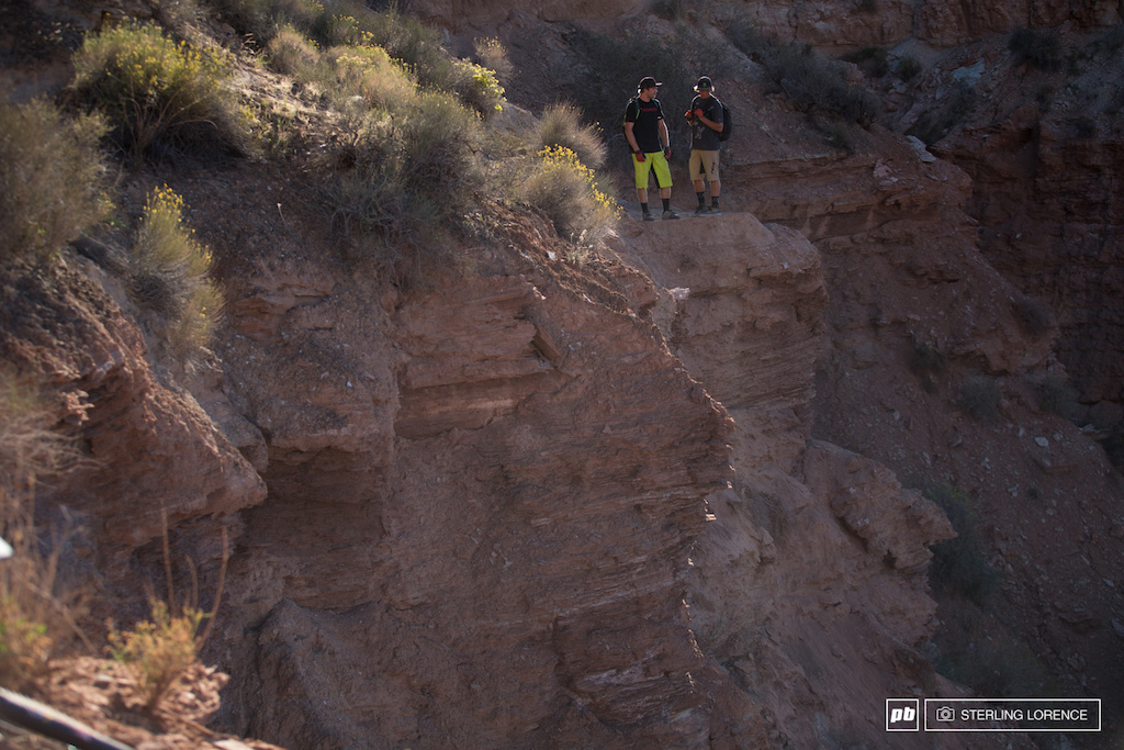 at 2014 RedBull Rampage in Virgin Utah.