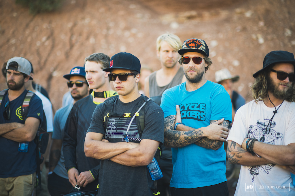REd Bull Rampage athlete meeting