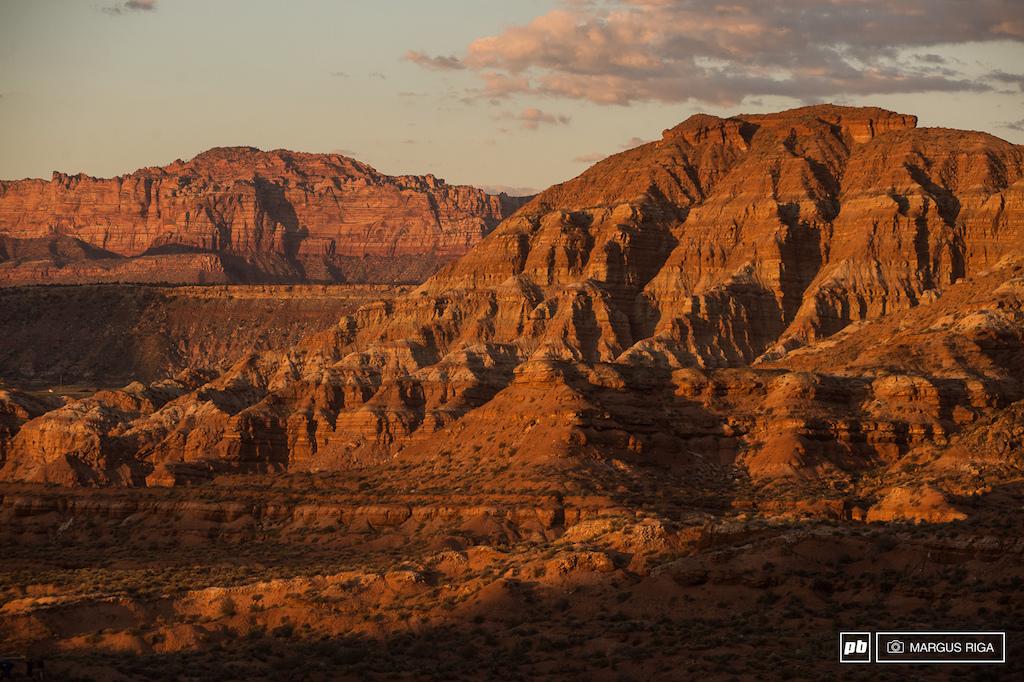 Scenic Virgin Utah
