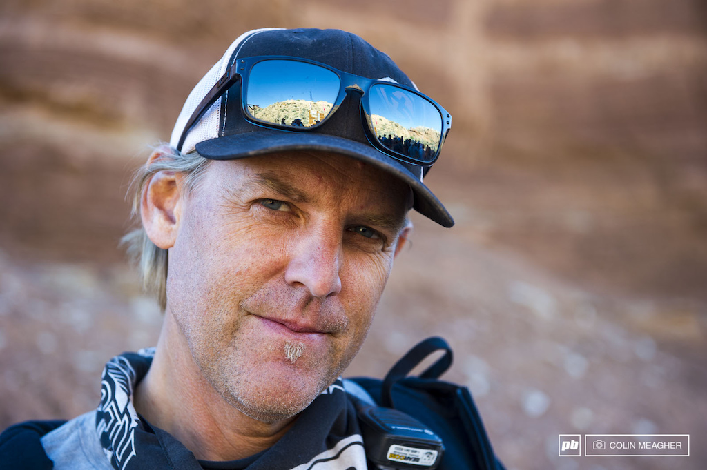 The man behind the Rampage Todd Barber. It was his vision back in 2001 that launched the first Red Bull Rampage.
