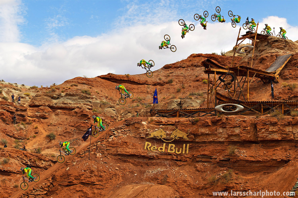 One year ago Cam made history (again) by sending the biggest stepdown backflip in mtb history... let's see what this year brings..!!