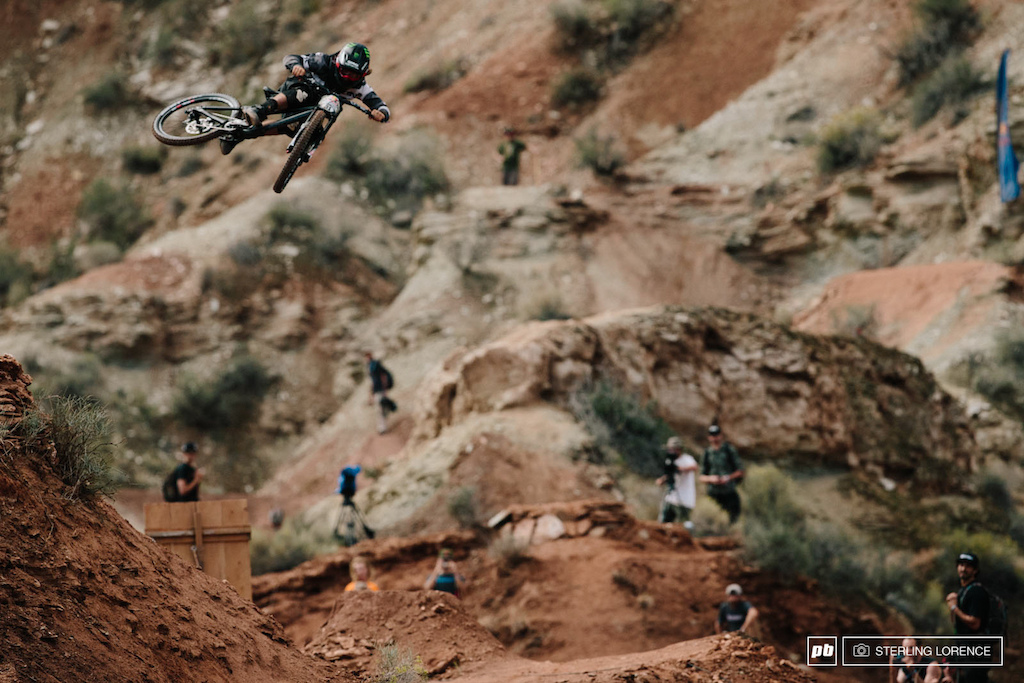 Aggy at RedBull Rampage 2014.