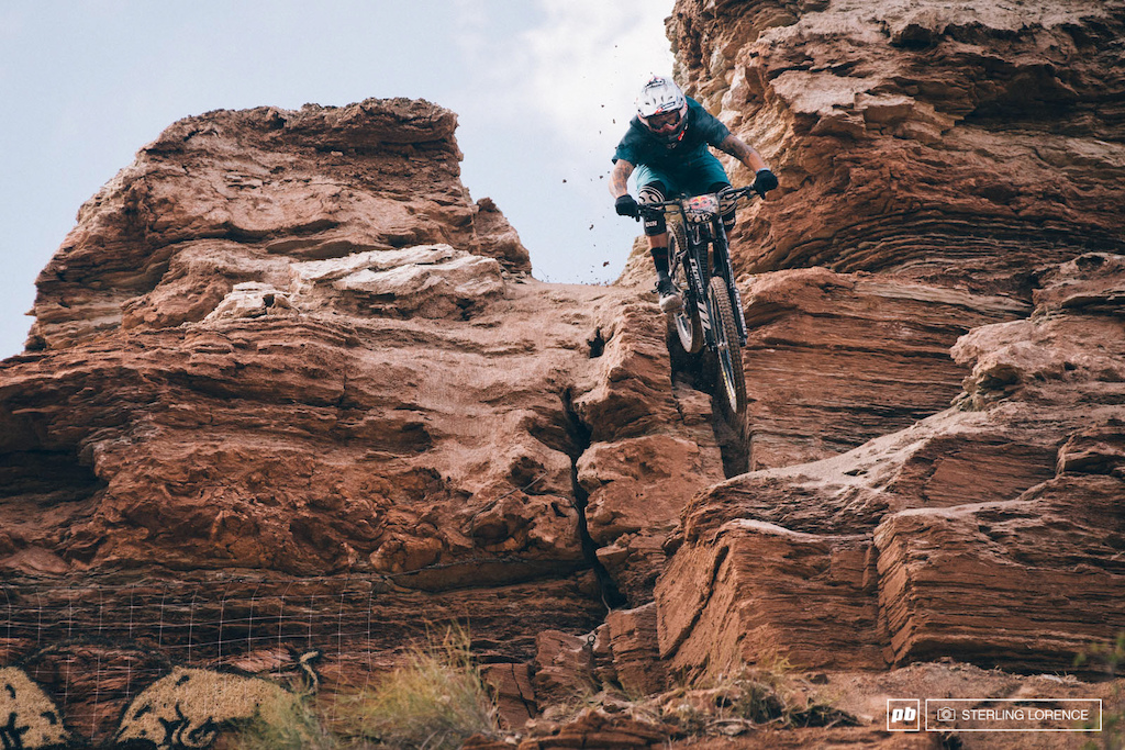 Gully at RedBull Rampage 2014.