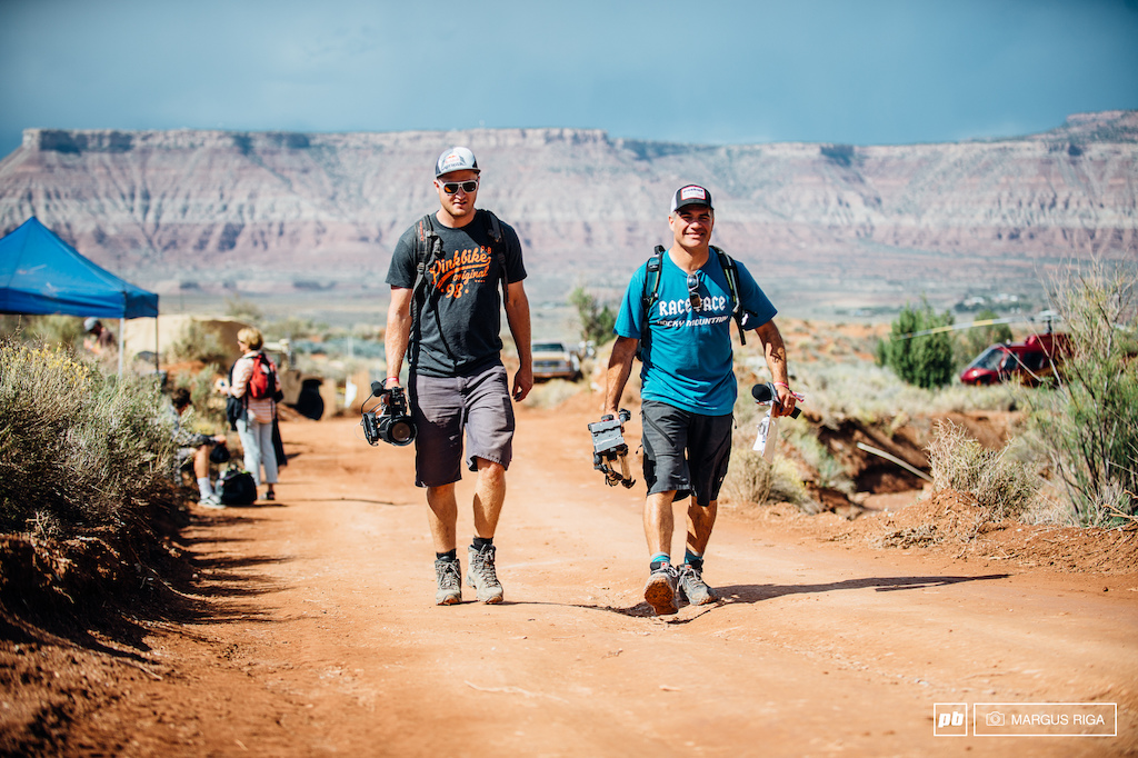 Tippie and Connor Macleod the Just the Tip team coming in hot to Red Bull Rampage.T