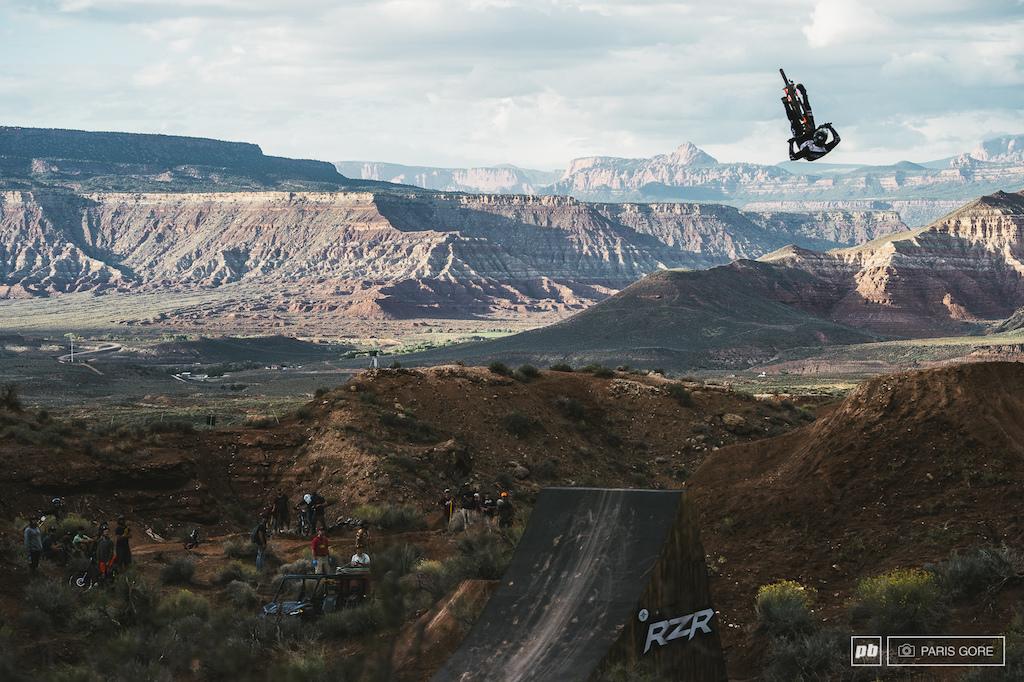 Brett Rheeder underflip