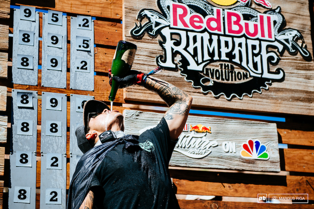 Andreu Lacondeguy red bull rampage podium