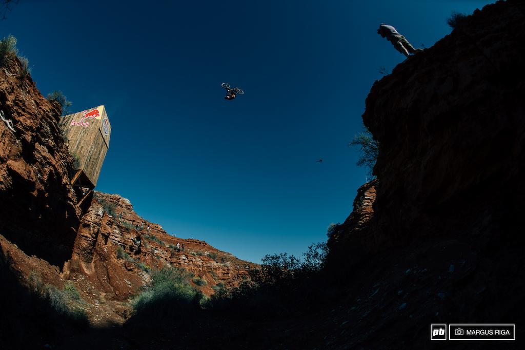 Jeff Herbertson making backflips over 75ft gaps look easy.