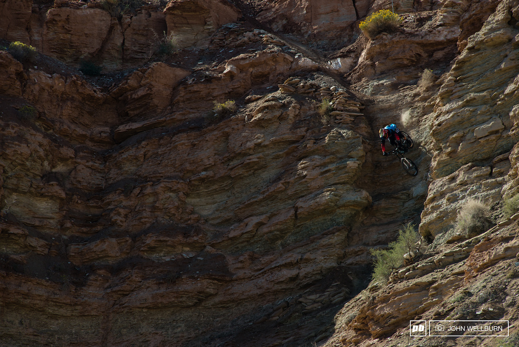 I tried my best to show the true Gnar of the entrance to Kyle and Cam s line..It was a cliff face not a drop a jagged cliff face. Kyle is charging it here..