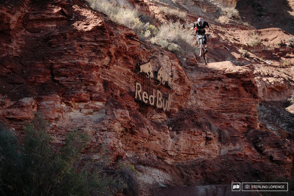 Kyle Norbraten no hander step down at RedBull Rampage 2014.