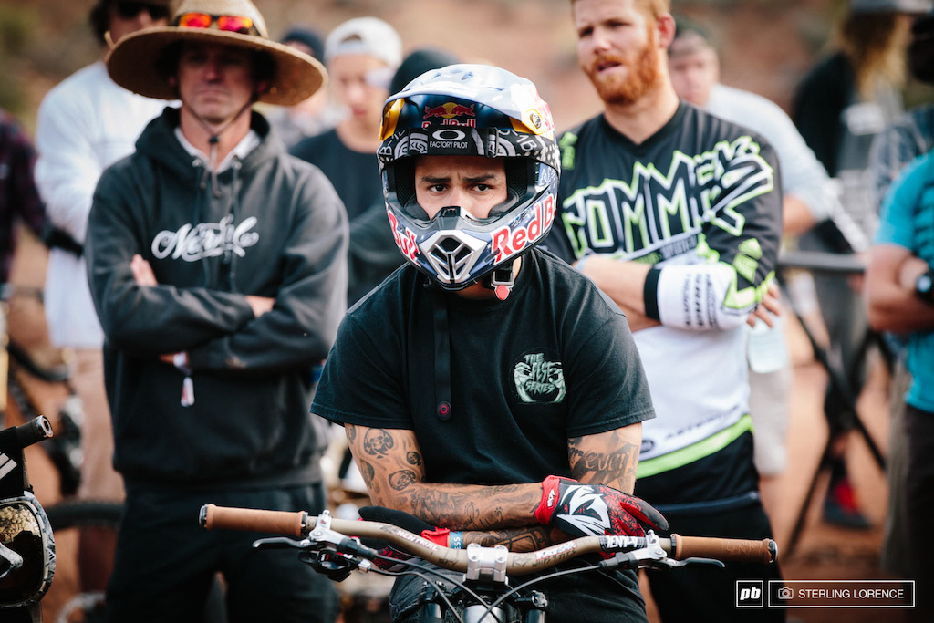 Andreu Lacondeguy had the look this morning at RedBull Rampage 2014.