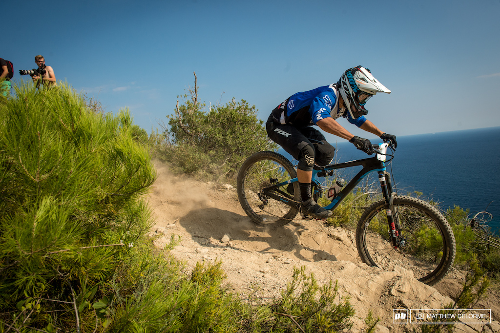 Yoann Barelli certainly hit his stride today taking a first on both stages three and four.