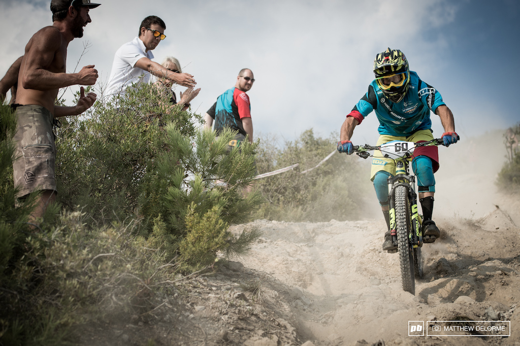 Davide Sottocornola was the fastest Italian in four stages today.