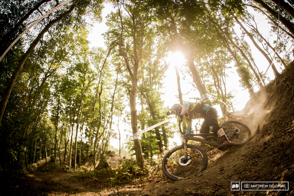 Richie Rude was on the fast track to take his first podium today. With a seventh place on stage five it was looking like today would be the day for him untill heartbreakingly his chain snapped on stage six. Rude certainly has his head wrapped around Enduro he will be a force to be reckoned with next year.