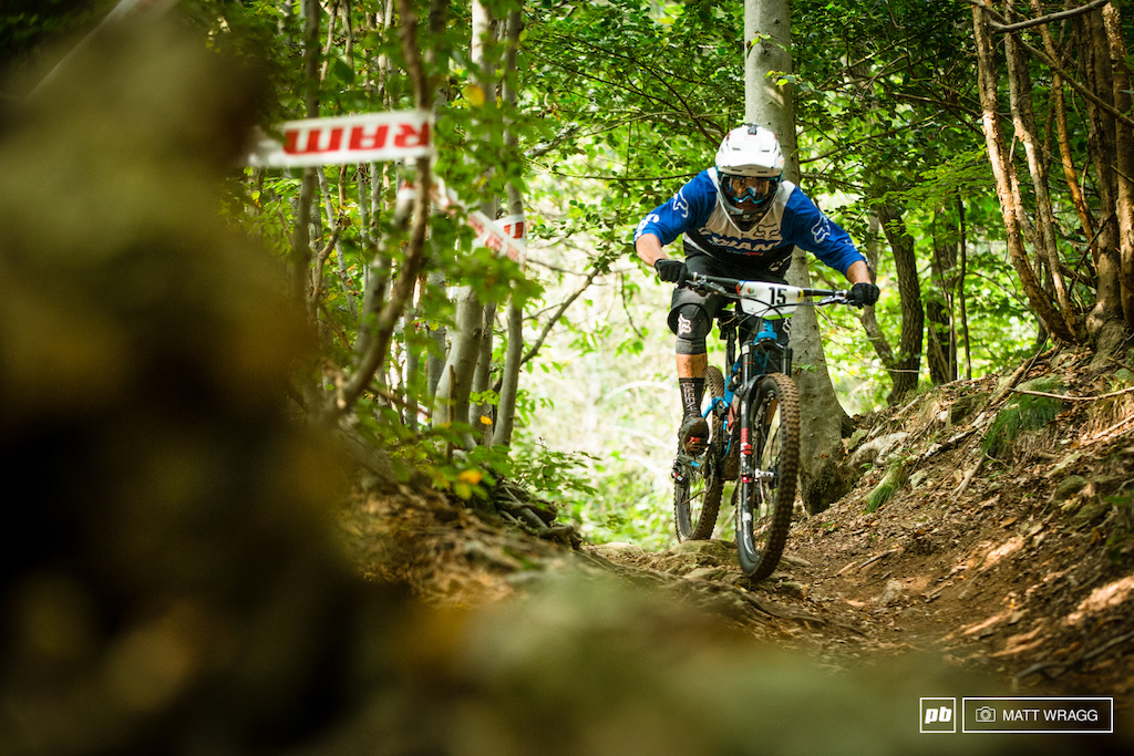While he may not have looked phased this morning Barelli clocked up 19th and 11th today dropping him back to fifth. While this isn t the win he maybe hoped for it is his best EWS result yet.