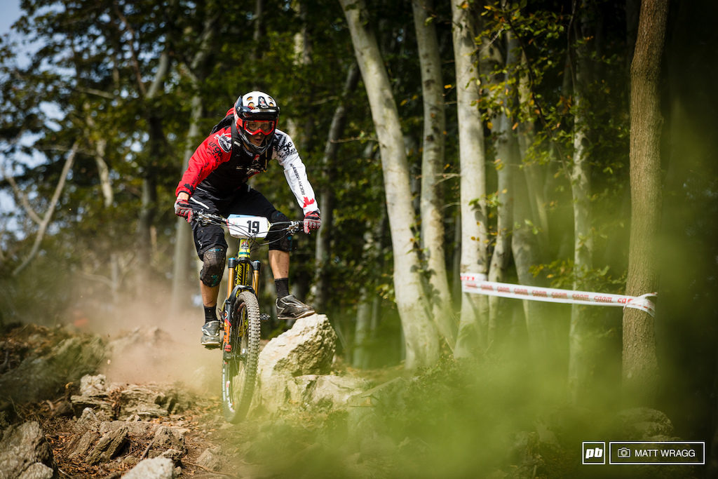 While there aren t many tricks in enduro racing Alex Cures footplant at 30mph in this rock garden is definitely worth some points from the judges.