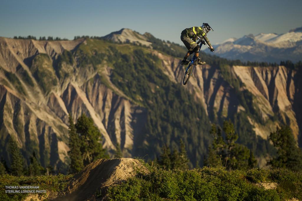 Thomas Vanderham in Squamish, British Columbia photo: Sterling Lorence