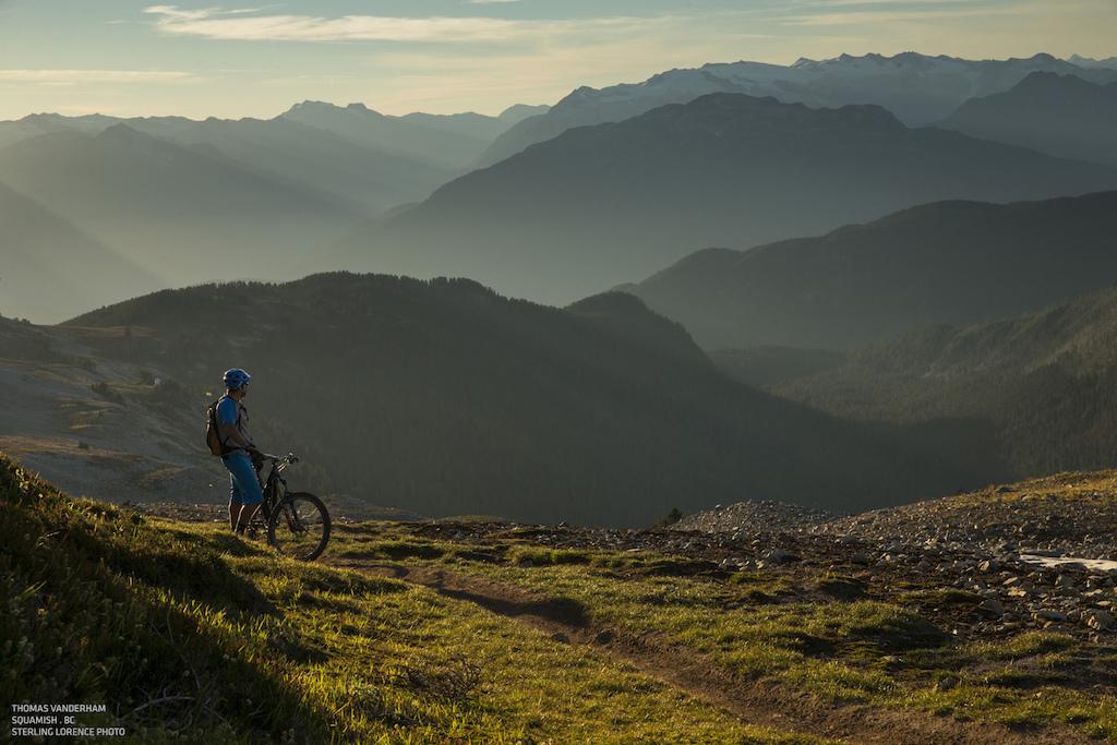 Thomas Vanderham in Squamish British Columbia photo Sterling Lorence