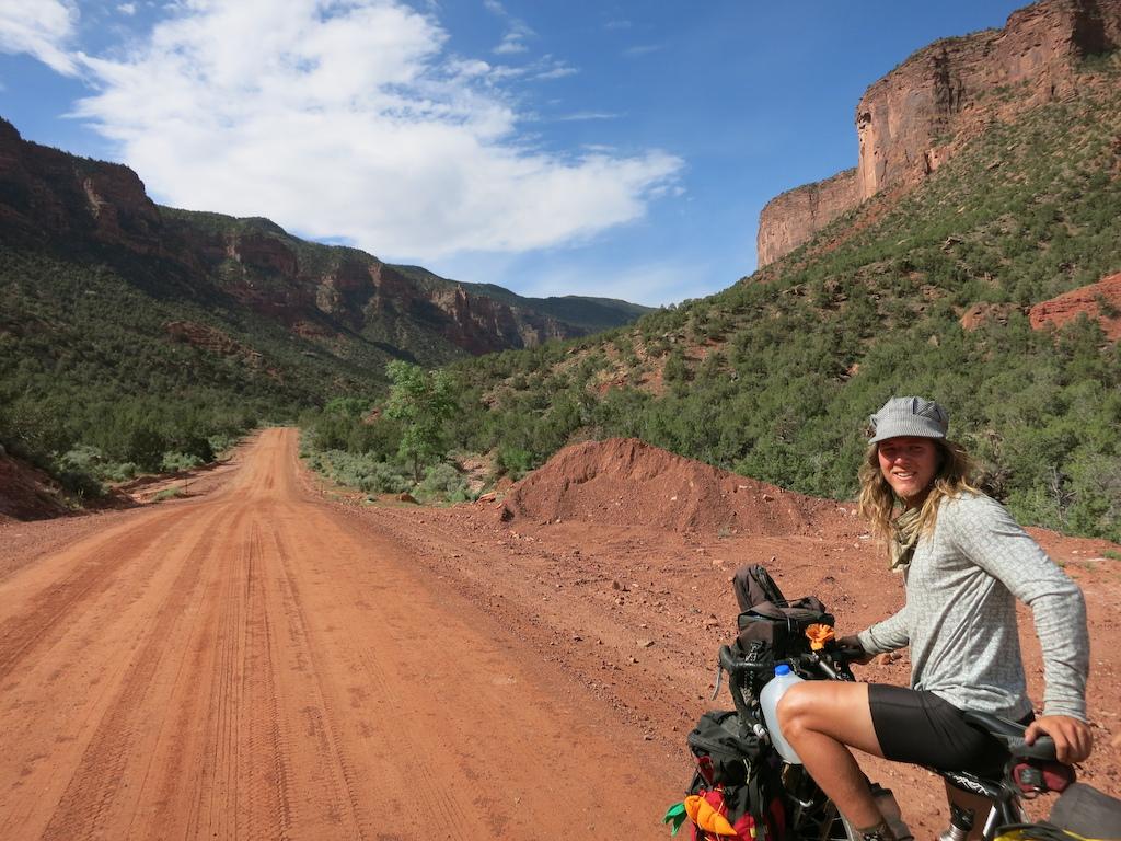 En route to Moab, UT via Gateway, CO