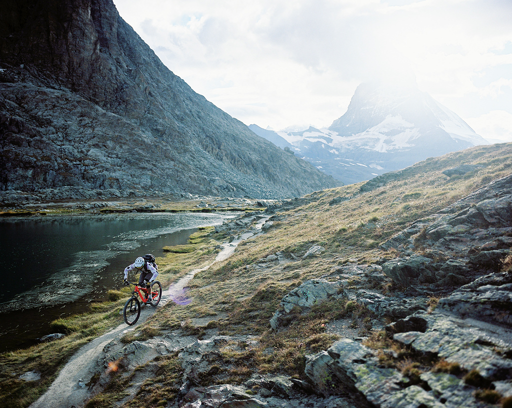 Afternoon ride in the Gornergrat area.