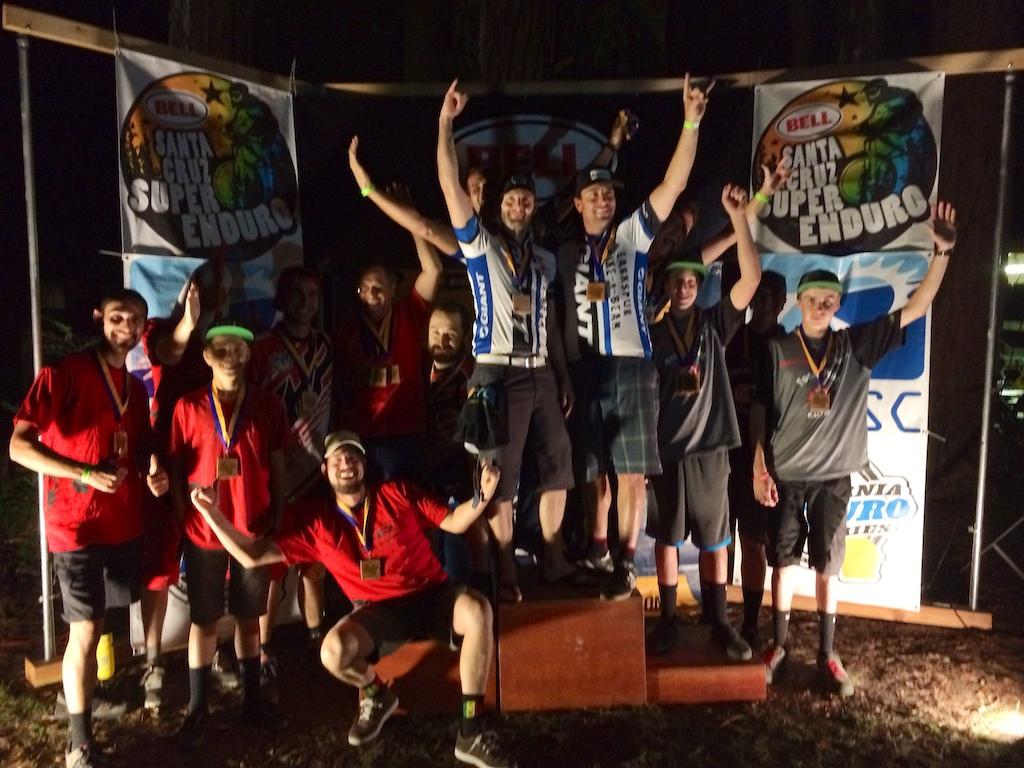 California Enduro Series 2014 Finale - Santa Cruz Super Enduro and Series Overall
