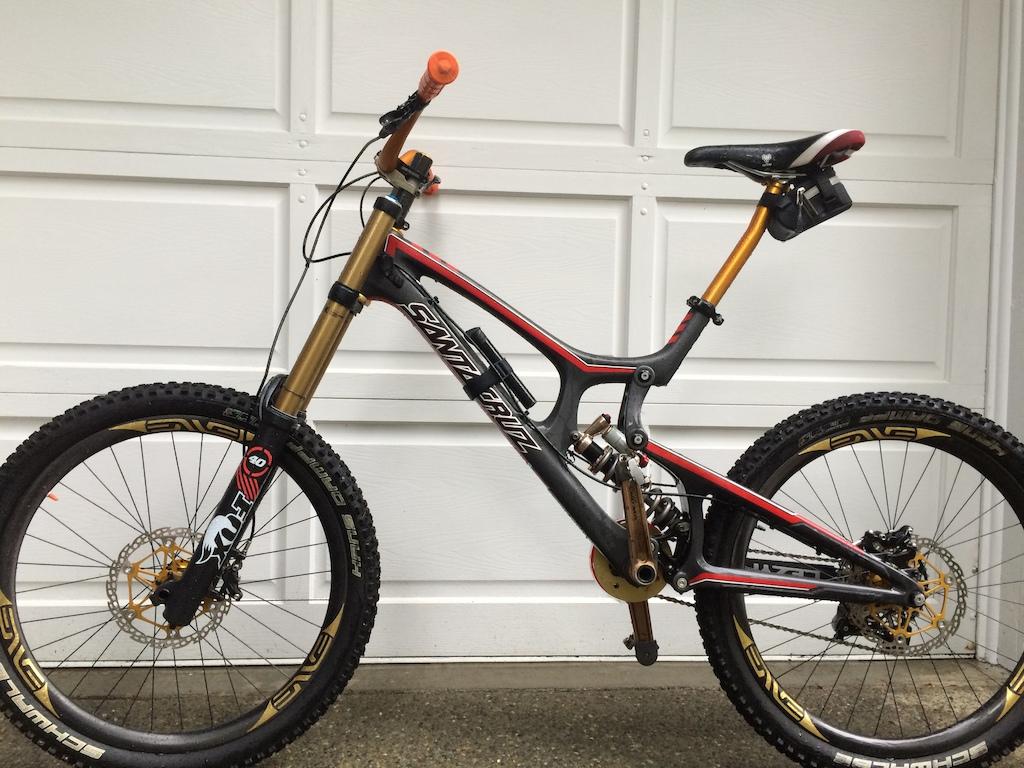 2014 Santa Cruz V10 All Carbon Red/Black