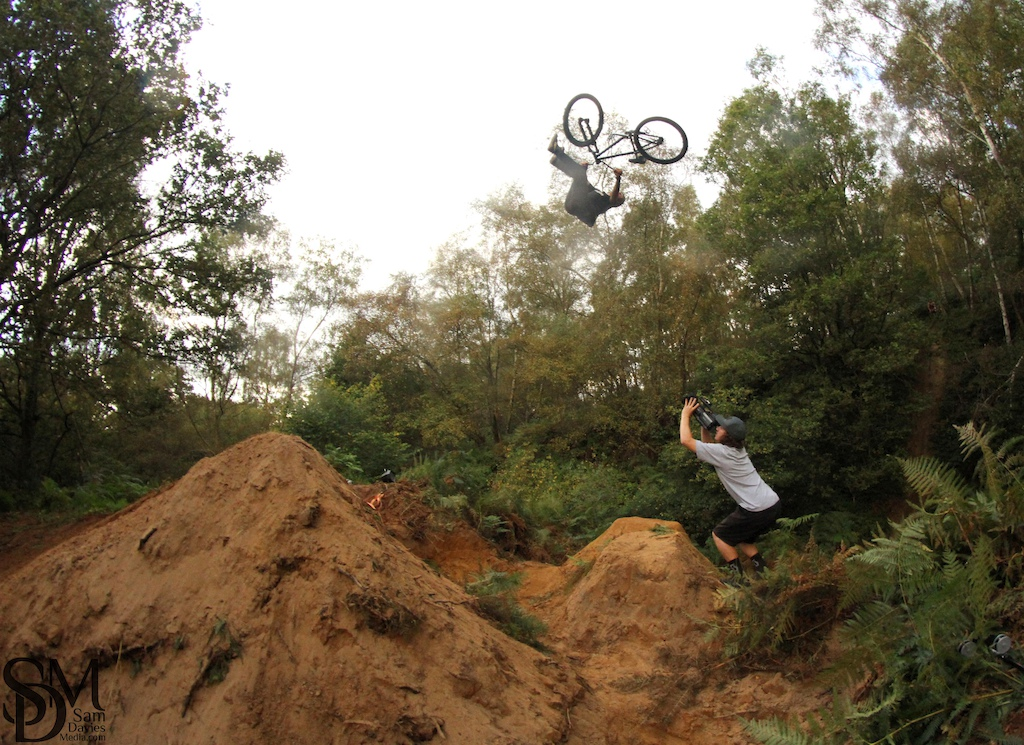 Flip Whip on the step up while filming for the pure darkness roadtrip edit