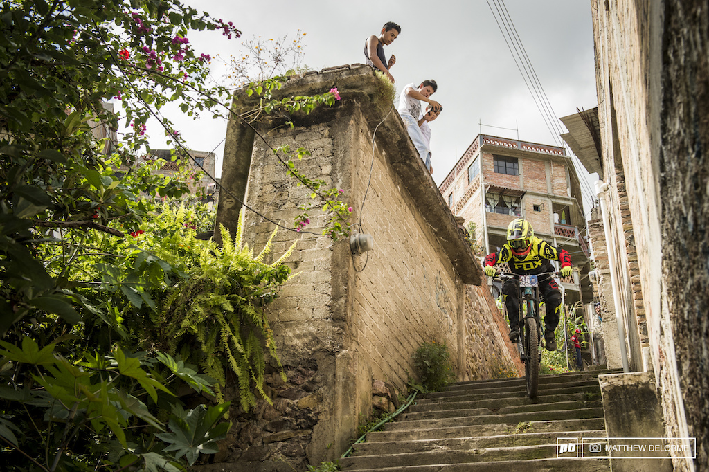 Young gun Finn Iles is here in Taxco showing the local youngin s how it s done.