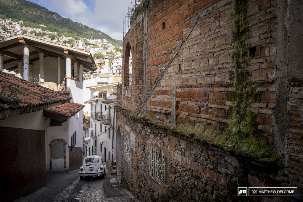 The VW beetle is alive and well here in Taxco. Not sure how big the taxi fleet of them is but it seems like a thousand of them scurry about town constantly.
