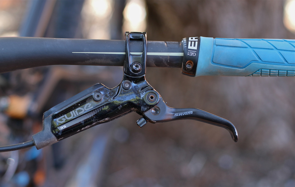SRAM Guide RS brake review test