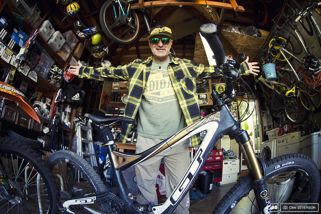 Hans Rey Bike Vault images by Dan Severson