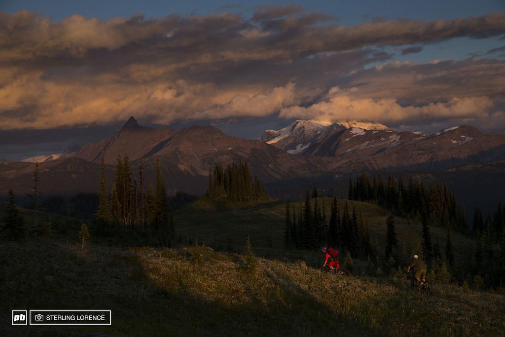 Matt Hunter and Andrew Shandro in Revelstoke, British Columbia, Canada