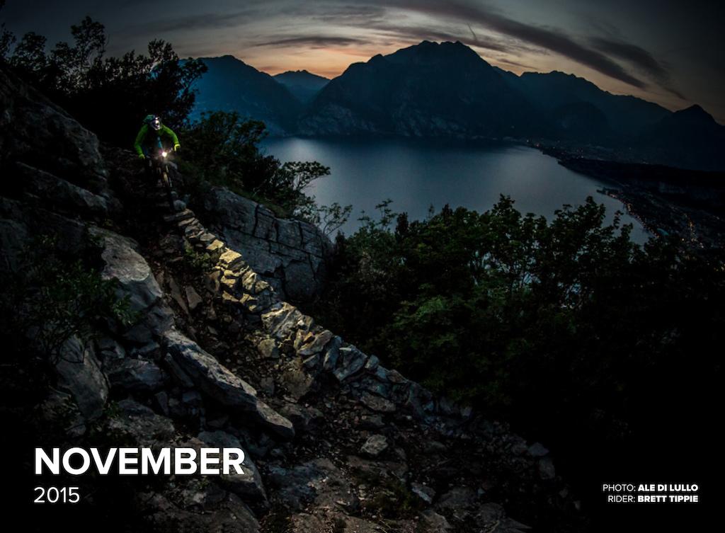2015 Pinkbike Calendar Image by Ale Di Lullo