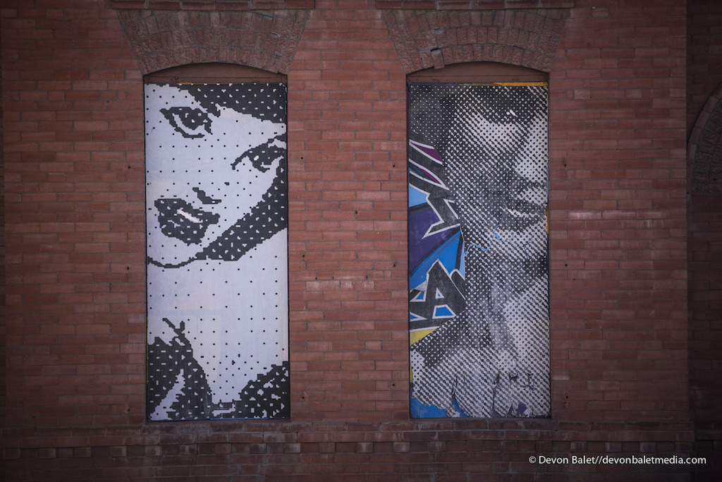 The street art of downtown El Paso is awesome leaving plenty of photo opportunities.