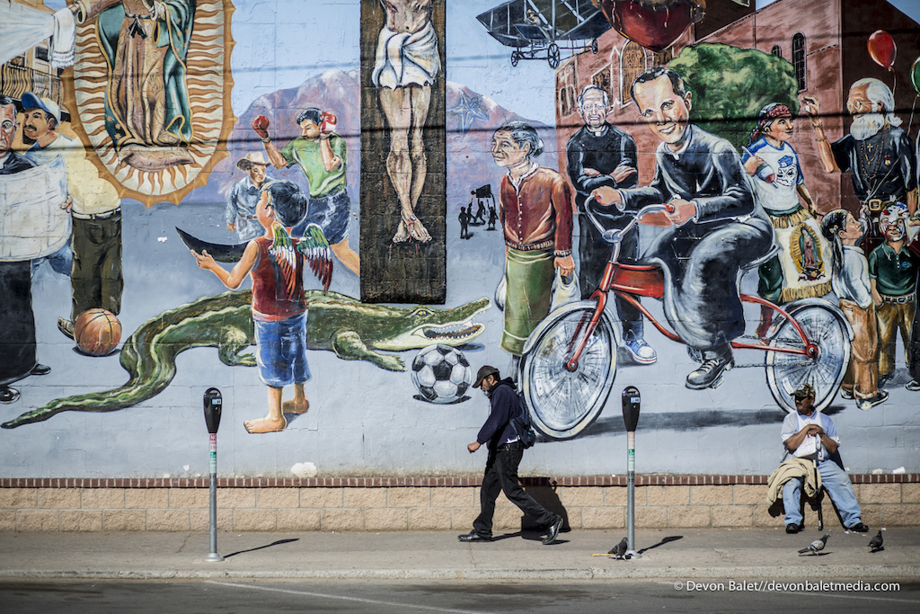 The Segundo Barrio section of El Paso is full of culture and amazing murals.