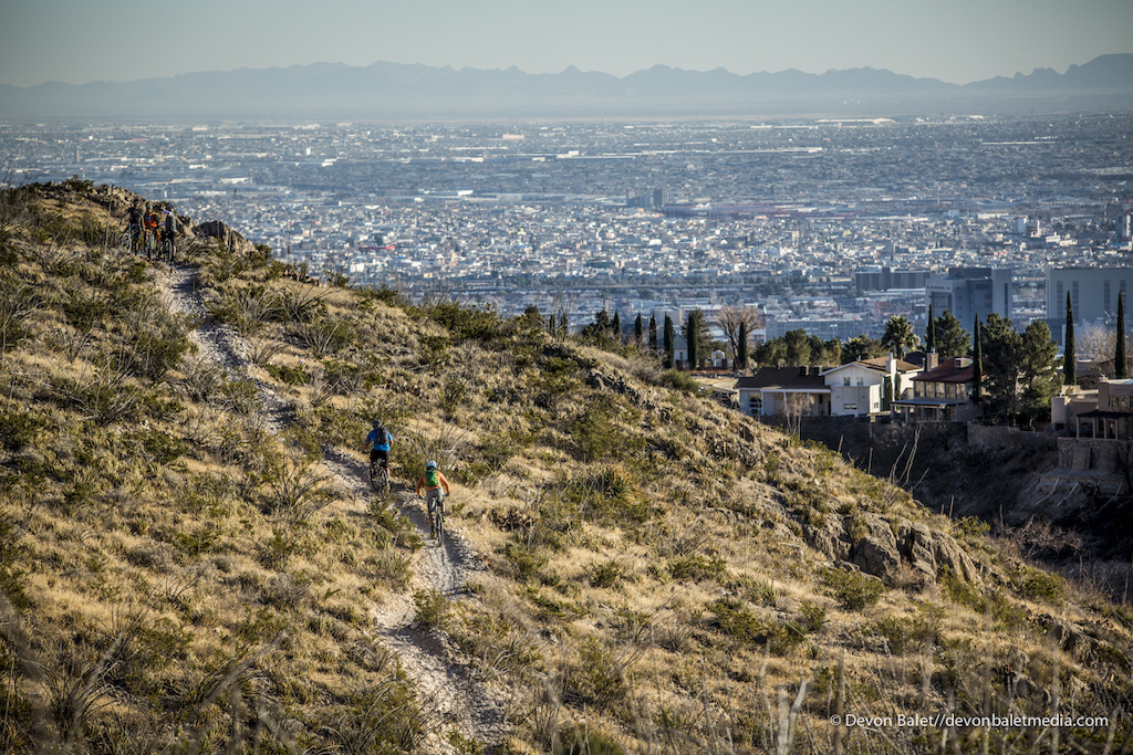 El Paso being the sixth biggest city in Texas has one of the biggest State Parks in the middle of the city. The Franklin Mountains nearly split El Paso in two offering endless miles of trails right in the city.