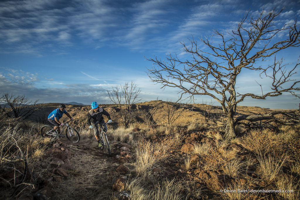 Even though the trails are limited in Fort Davis State Park the potential is HUGE