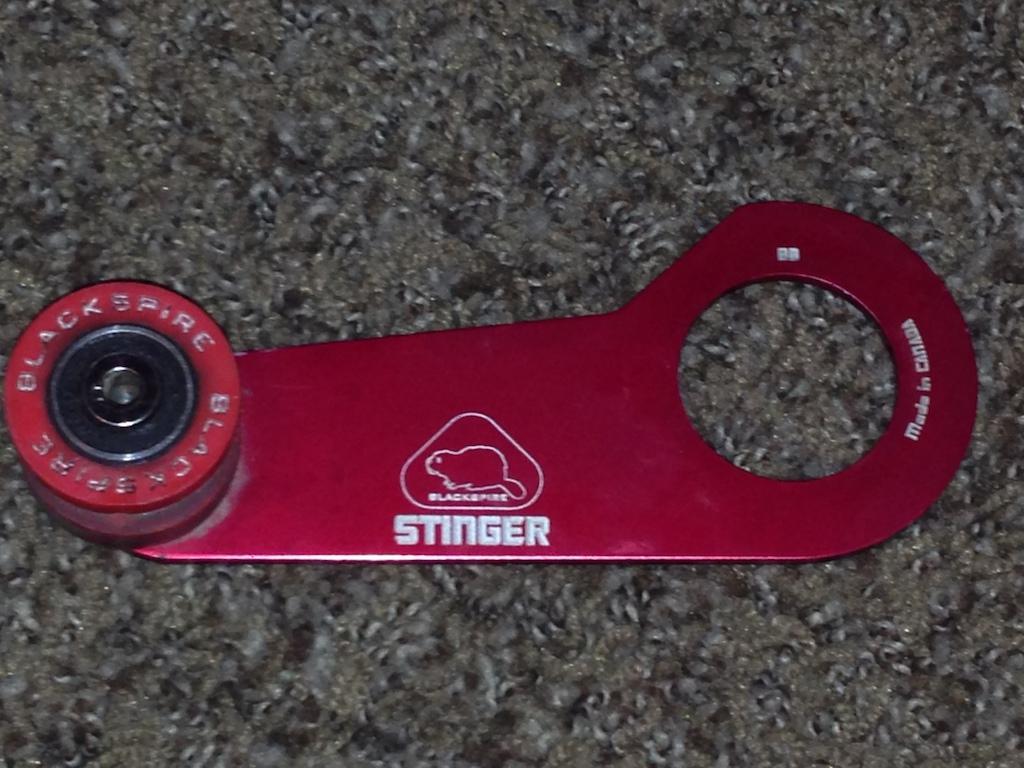 0 Red Blackspire Stinger Chain Tensioner BB mount