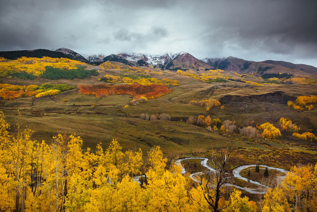 Fall in Colorado s Elk Mountains