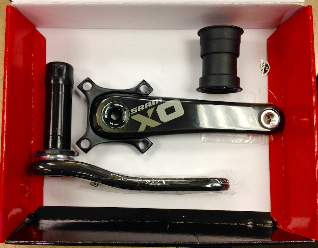2014 SRAM X01 Carbon Crankset BB30 175mm w/ PF30 BB